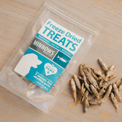 Single Ingredient Minnows Freeze Dried Treats