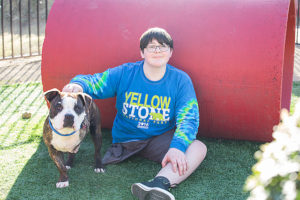 A Younger Most cancers Survivor & Amputee Finds A BFF In A Three-Legged Rescue Canine