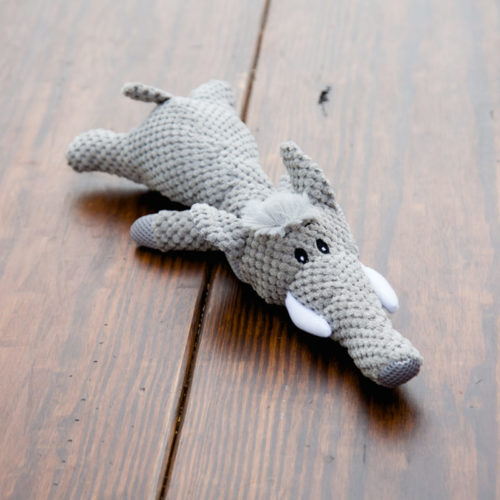 Grey Elephant Plush Toy