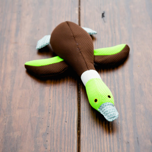 Green Brown Duck Plush Toy