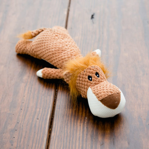 Brown Lion Plush Toy