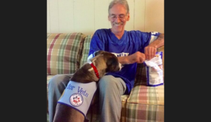 """Veteran's Bond With Beloved Service Canine Is """"Past Phrases"""""""