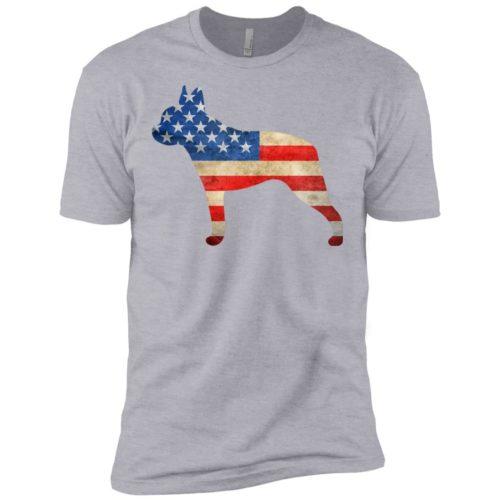 Vintage Boston Terrier USA Premium T-Shirt