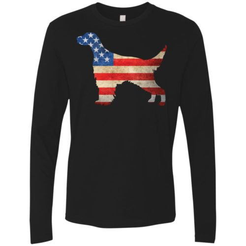 Vintage English Setter USA Premium Long Sleeve Tee