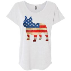Vintage Frenchie USA Ladies' Slouchy T-Shirt