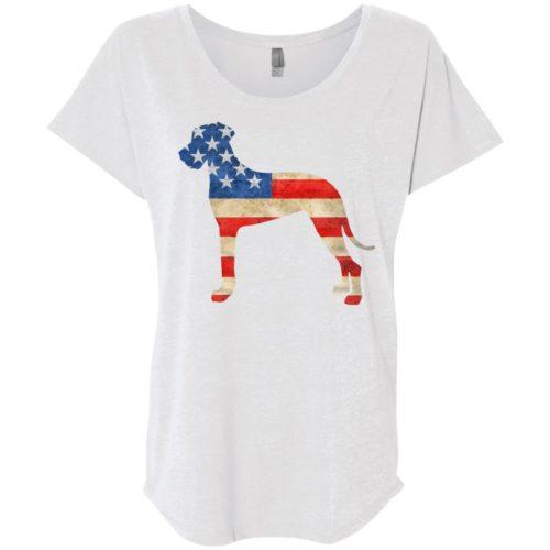 Vintage Great Dane USA Ladies' Slouchy T-Shirt