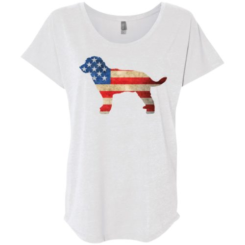 Vintage Golden Doodle USA Slouchy Tee