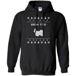 Shih Tzu Christmas Pullover Hoodie