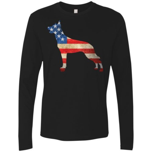 Vintage Malinois USA Premium Long Sleeve Tee
