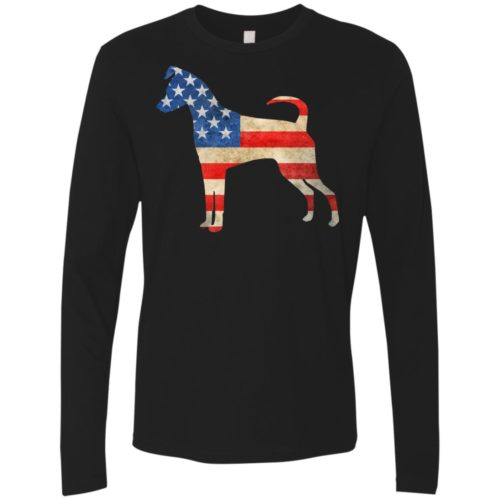 Vintage Miniature Pinscher USA Premium Long Sleeve Tee