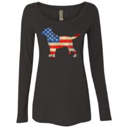 Vintage Lab USA Ladies' Scoop Neck Long Sleeve Shirt