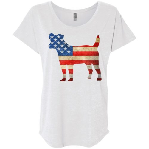 Vintage Jack Russell USA Slouchy Tee