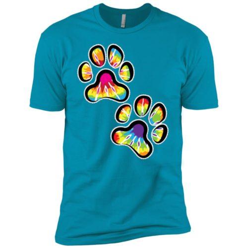 Double Paws Tie Dye Boys' Premium T-Shirt