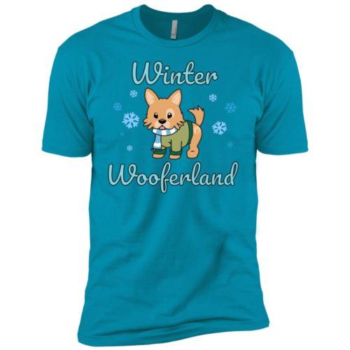 Winter Wooferland Boys' Premium T-Shirt