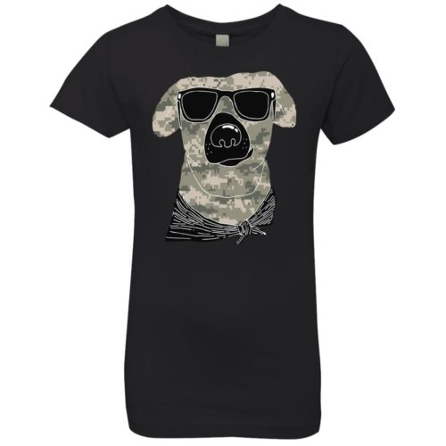 Camo Dog Girls' Premium Tee