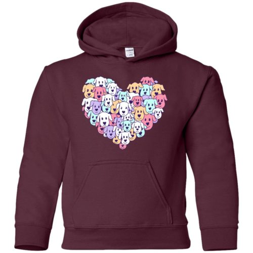 Heart Of Dogs Youth Pullover Hoodie