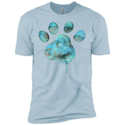 Watercolor Paw Boys' Premium Tee
