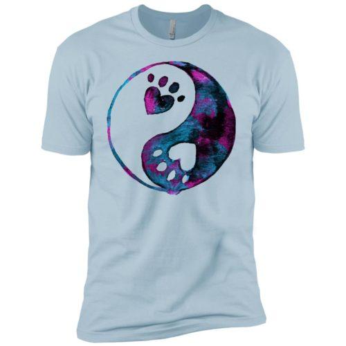 Yin-Yang Paw Boys' Premium T-Shirt