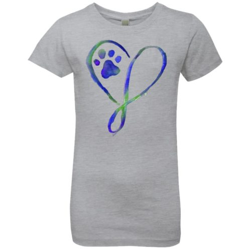Elegant Heart Girls' Premium Tee