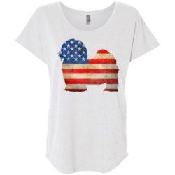 Vintage Maltese USA Ladies' Slouchy T-Shirt