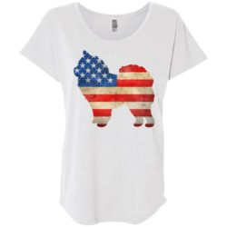 Vintage Chow Chow USA Ladies' Slouchy T-Shirt