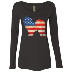 Vintage Chow Chow USA Ladies' Scoop Neck Long Sleeve Shirt