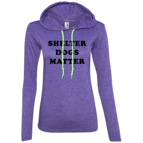 Shelter Dogs Matter Fitted T-Shirt Hoodie