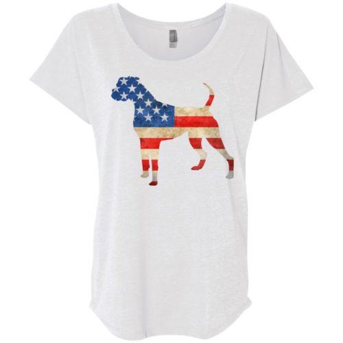 Vintage Boxer USA Ladies' Slouchy T-Shirt