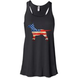 Vintage Bull Terrier USA Bella Fashion Tank