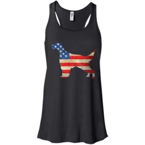 Vintage English Setter USA Flowy Tank