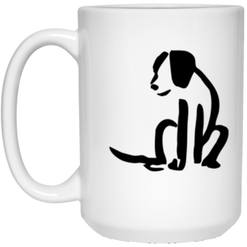 Dog Sketch 15 oz. Mug