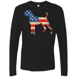 Vintage Boxer USA Premium Long Sleeve Shirt