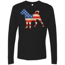 Vintage Cane Corso USA Premium Long Sleeve Shirt