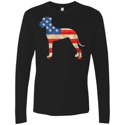 Vintage Great Dane USA Premium Long Sleeve Shirt
