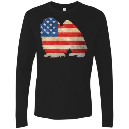 Vintage Japanese Chin USA Premium Long Sleeve Tee