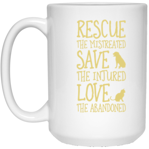 Rescue Them 15 oz. Mug