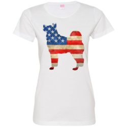 Vintage Akita USA Ladies' Premium T-Shirt
