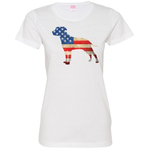 Vintage American Bulldog USA Fitted Tee