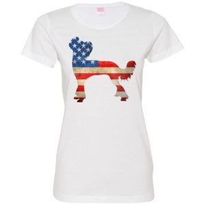 Vintage Chinese Crested USA Fitted Tee