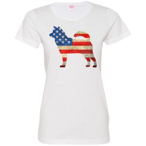 Vintage Husky USA Ladies' Premium T-Shirt