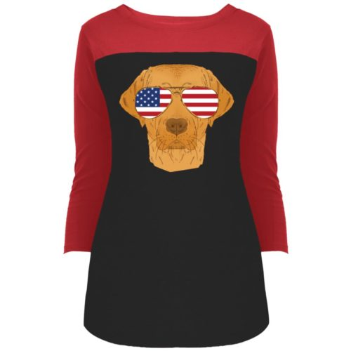 Cool Dog USA Colorblock 3/4 Sleeve