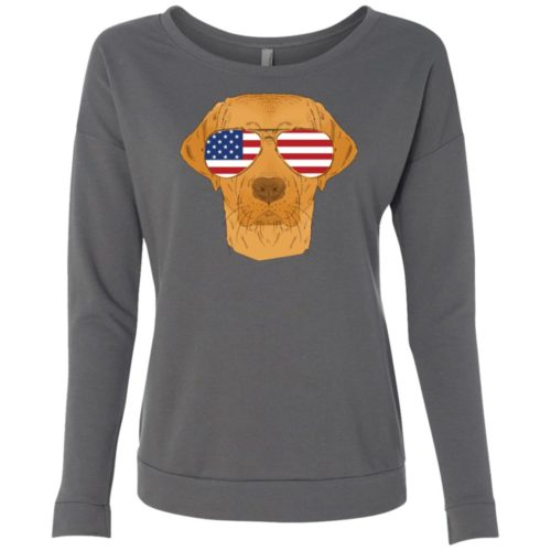 Cool Dog USA Scoop Neck Sweatshirt
