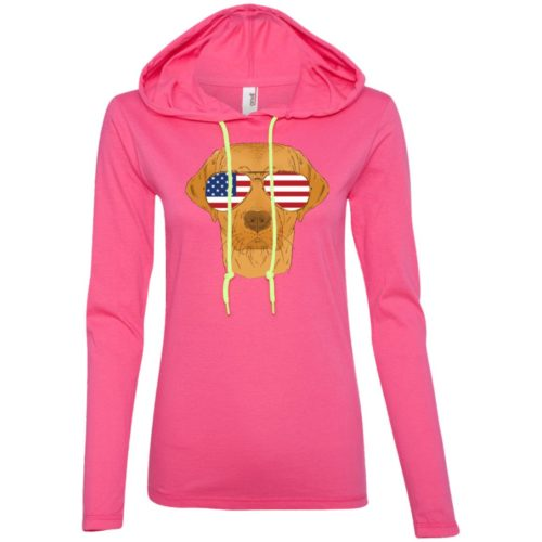 Cool Dog USA Fitted T-Shirt Hoodie