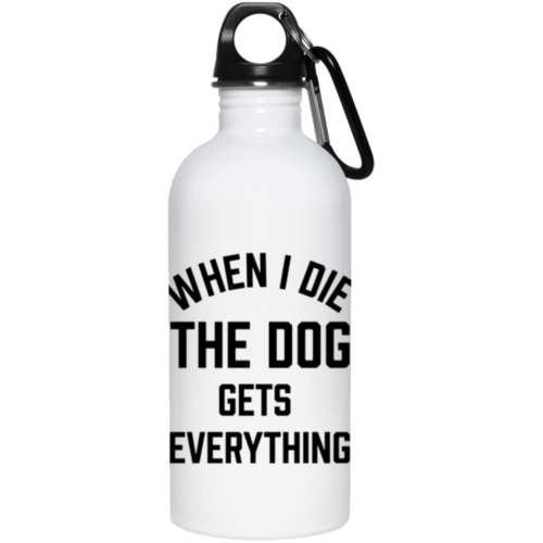 When I Die Stainless Steel Water Bottle