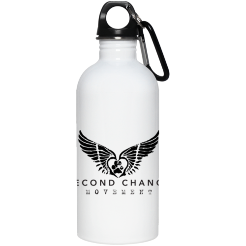 Second Chance Movement Stainless Steel Water Bottle