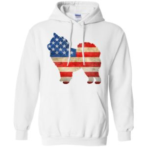 Vintage Chow Chow USA Pullover Hoodie