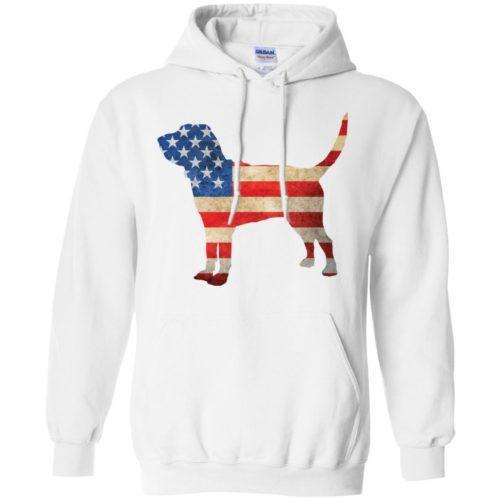 Vintage Bloodhound USA Pullover Hoodie