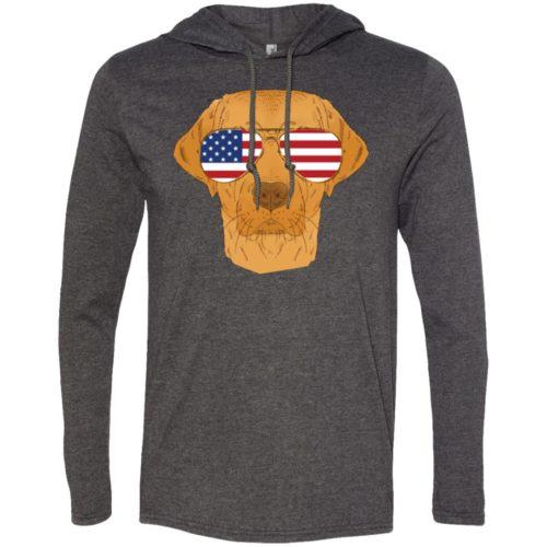 Cool Dog USA T-Shirt Hoodie