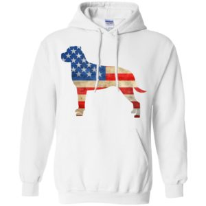 Vintage Rottweiler USA Pullover Hoodie