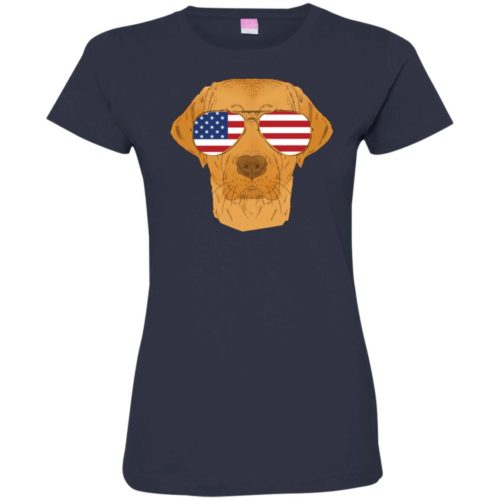 Cool Dog USA Fitted Tee